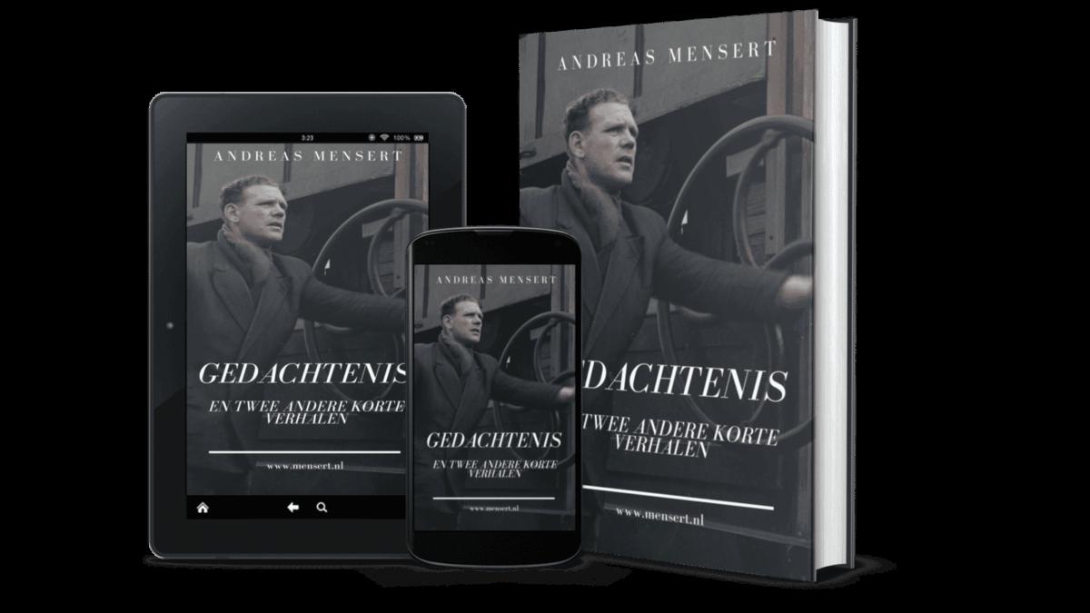 Cover ebook Gedachtenis en twee andere korte verhalen